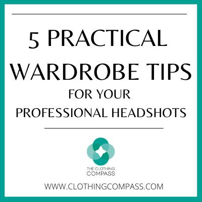 wardrobe tips photoshoots