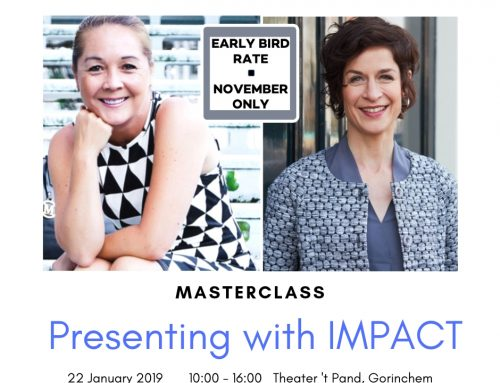 Masterclass: Presenting with IMPACT